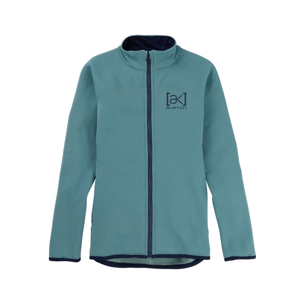 Women's Burton [ Ak ] Baker Power Stretch ® Full- Zip Fleece