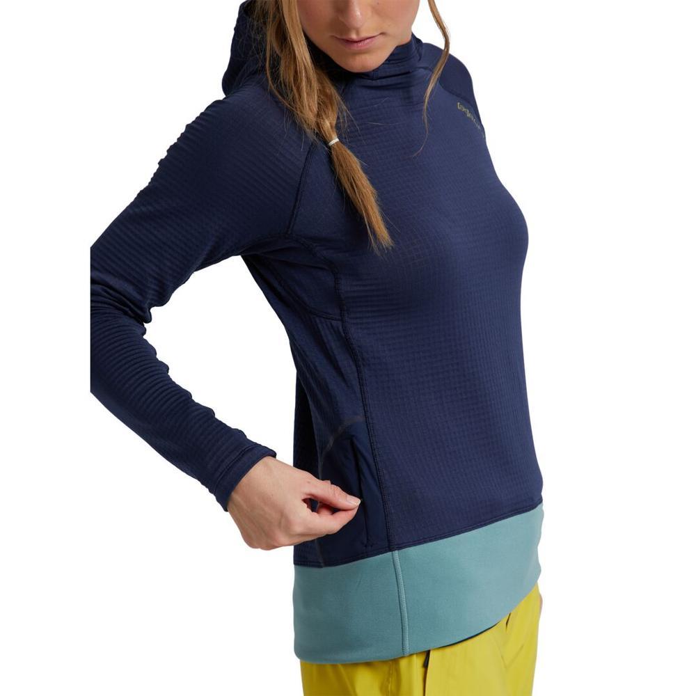 Women's Burton [ Ak ] Helium Power Grid ™ Pullover Fleece