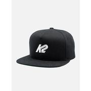 K2 5 PANEL HAT BLACK