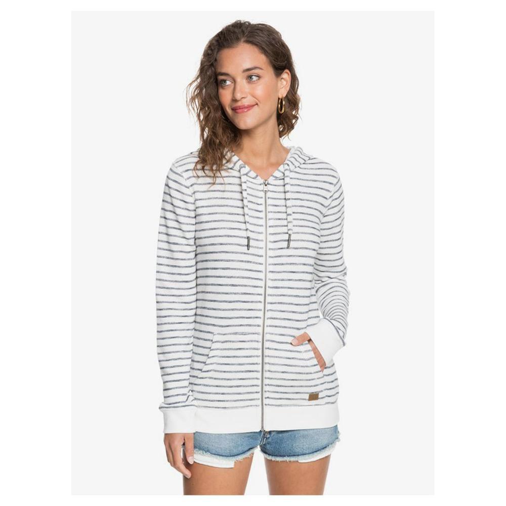 Roxy Trippen Stripes Zip- Up Hoodie