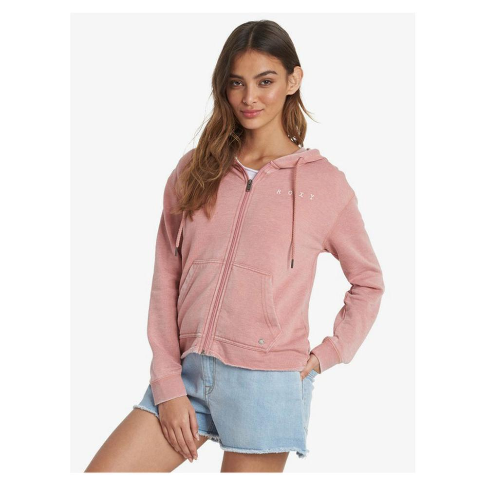 Roxy Go For It A Zip- Up Hoodie