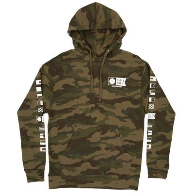 M ALPHA HOODED FLEECE