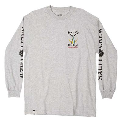 M TAILED L/S TEE