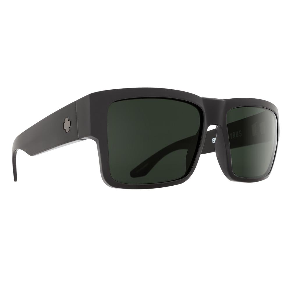 Spy Cyrus Sunglasses Matte Black/Hd Gray Green