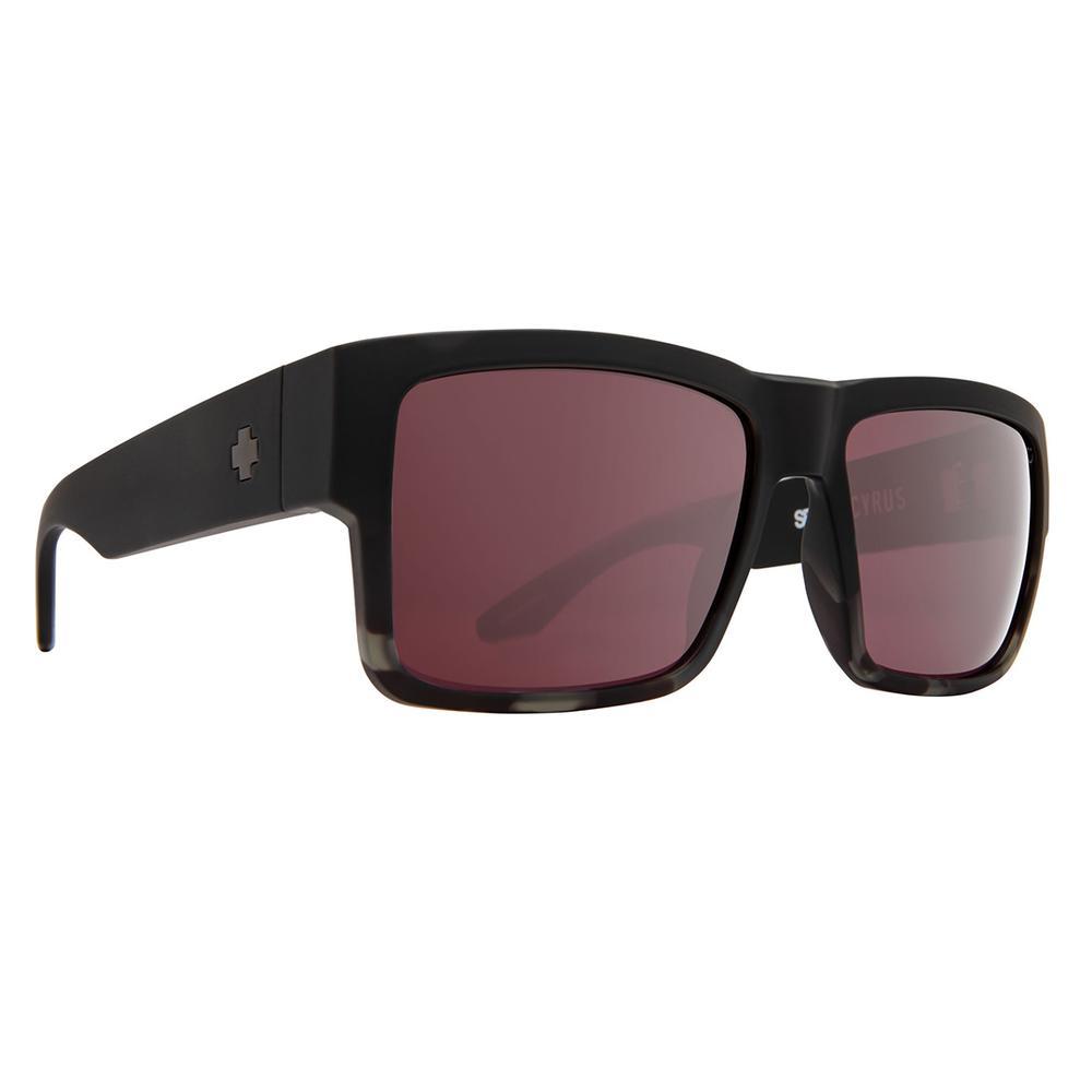 Spy Cyrus Sunglasses Matte Black Tortoise Rose