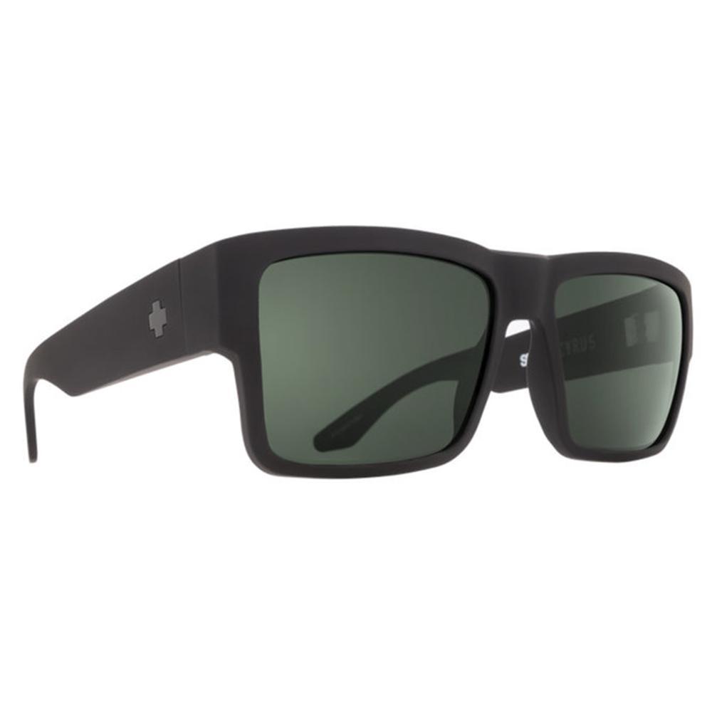 Spy Cyrus Polarized Sunglasses Soft Matte Black/Hd Gray Green Polar