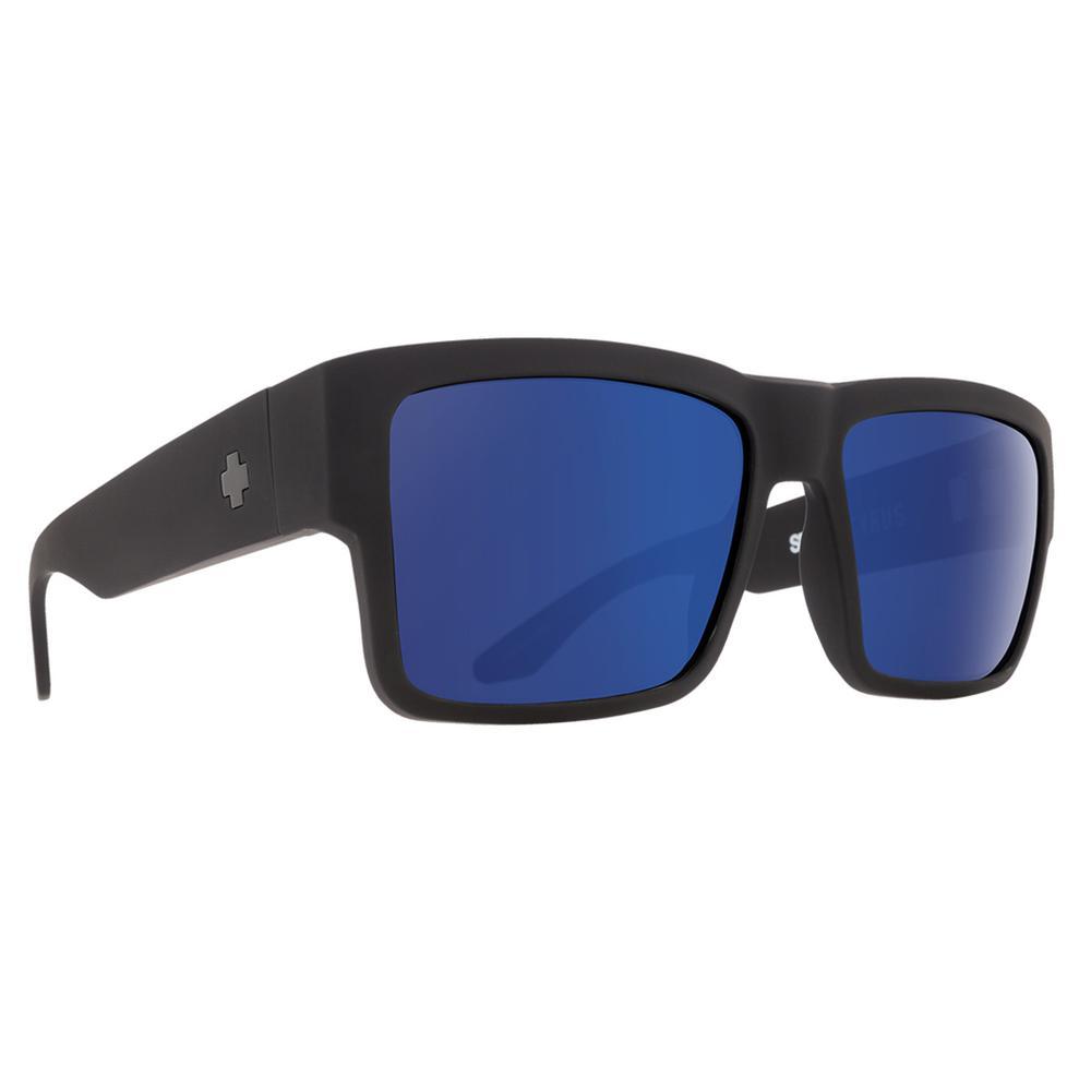 Spy Cyrus Sunglasses Soft Matte Black/Happy Bronze