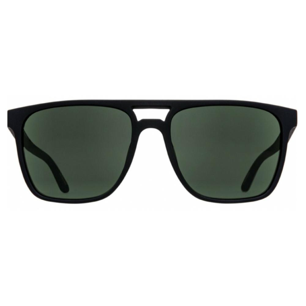 Spy Czar Polarized Sunglasses Soft Matte Black/Hd + Gray Grn