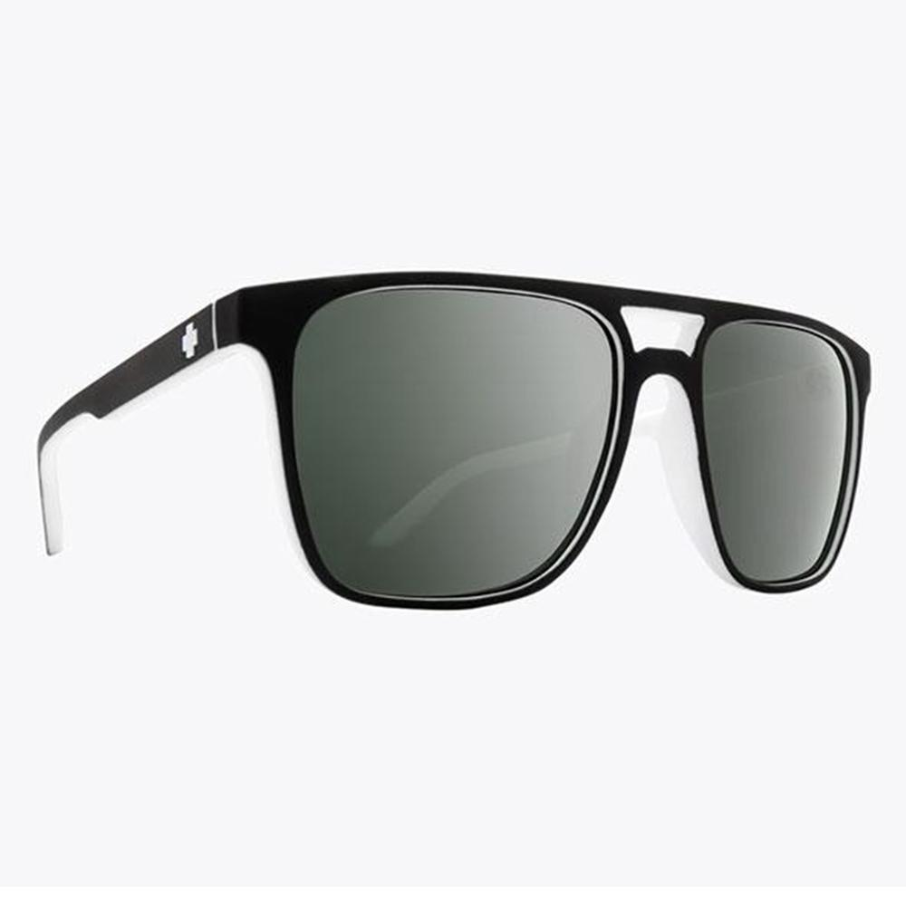 Spy Czar Sunglasses Whitewall/Hd + Gray Grn Platinum