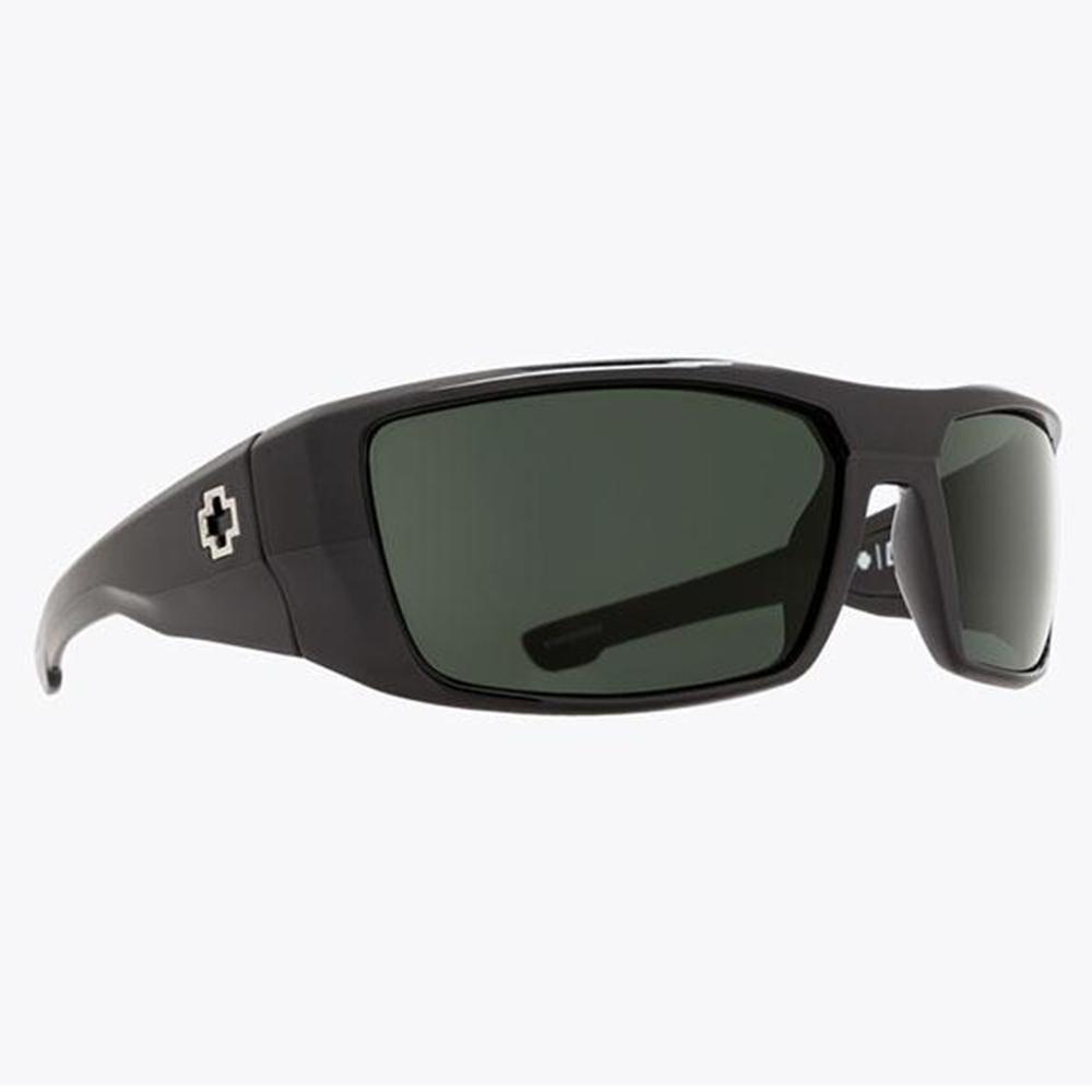 Spy Dirk Sunglassess Soft Matte Black/Hd + Gray Green