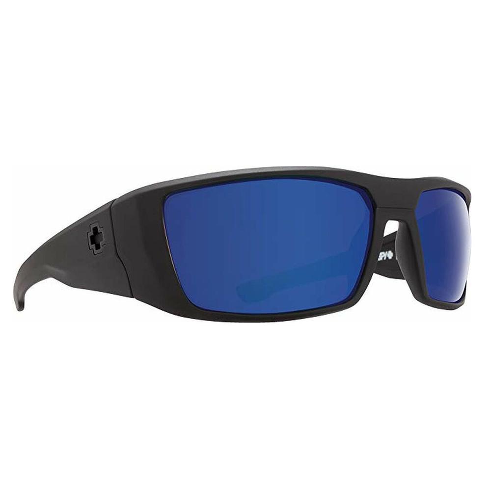 Spy Dirk Sunglasses Matte Black/Happy Brnz Polar Blue Spectra