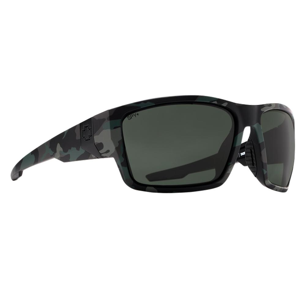 Spy Dirty Mo Polarized Sunglasses Matte Camo Happy Gray Green Polar