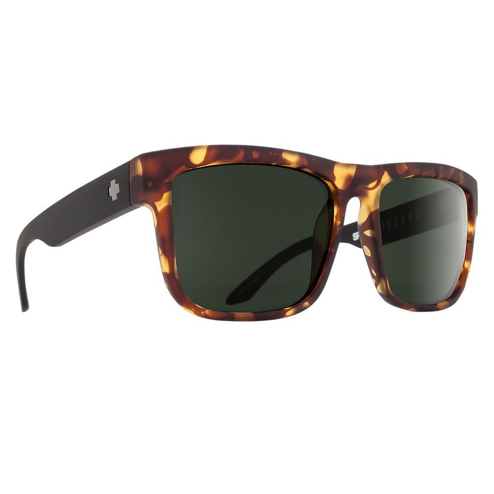 Spy Discord Sunglasses Vintage Tortoise/Happy Gray Green