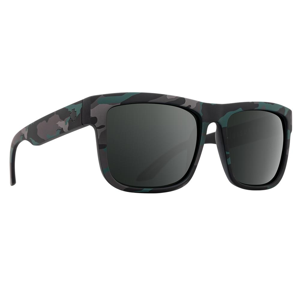 Spy Discord Sunglasses Stealth Camo Gray Green W Black Spectra Mirror