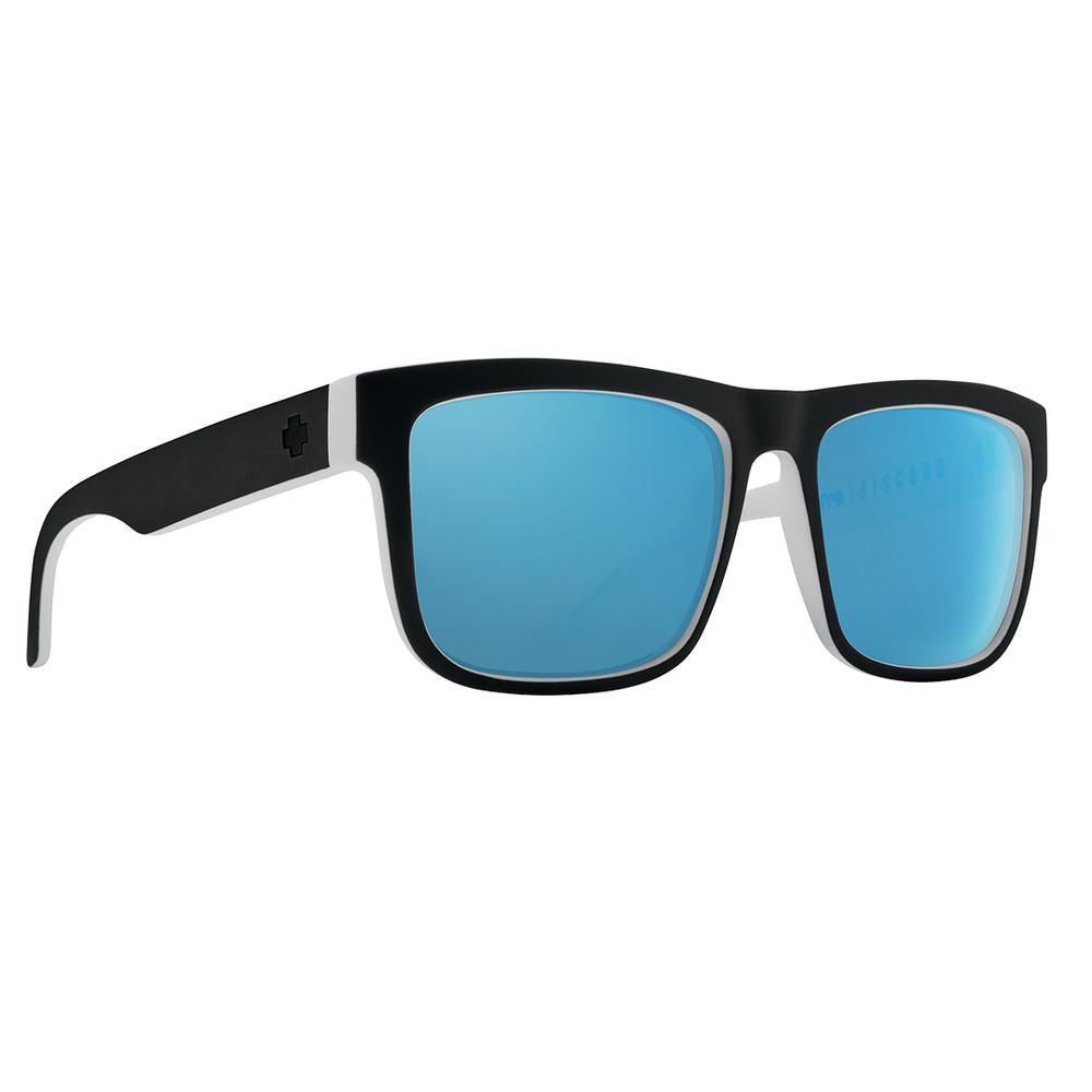 Spy Discord Polarized Sunglasses Whitewall Happy Gray Green Polar W Blue Spectra Mirror