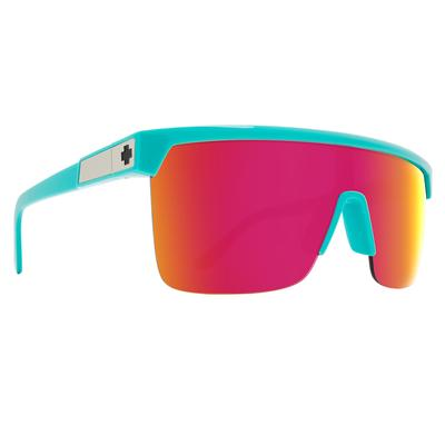 FLYNN 5050 TEAL - HD PLUS GRAY GREEN WITH PINK SPECTRA MIRRO