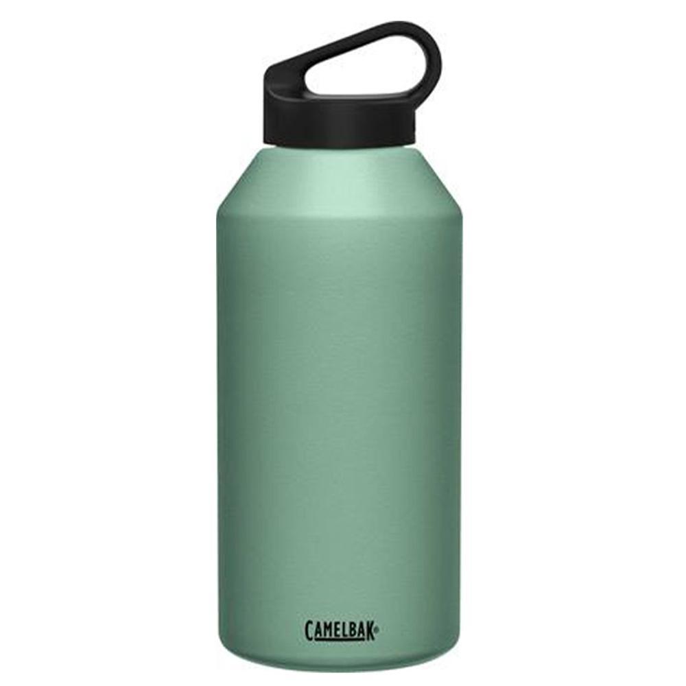 Camelbak Carry Cap 64 Oz Bottle Insulated Stainless Steel Moss