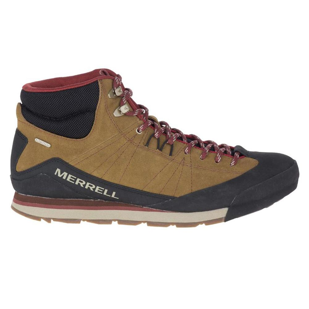Merrell Men's Catalyst Mid Suede Waterproof Boot