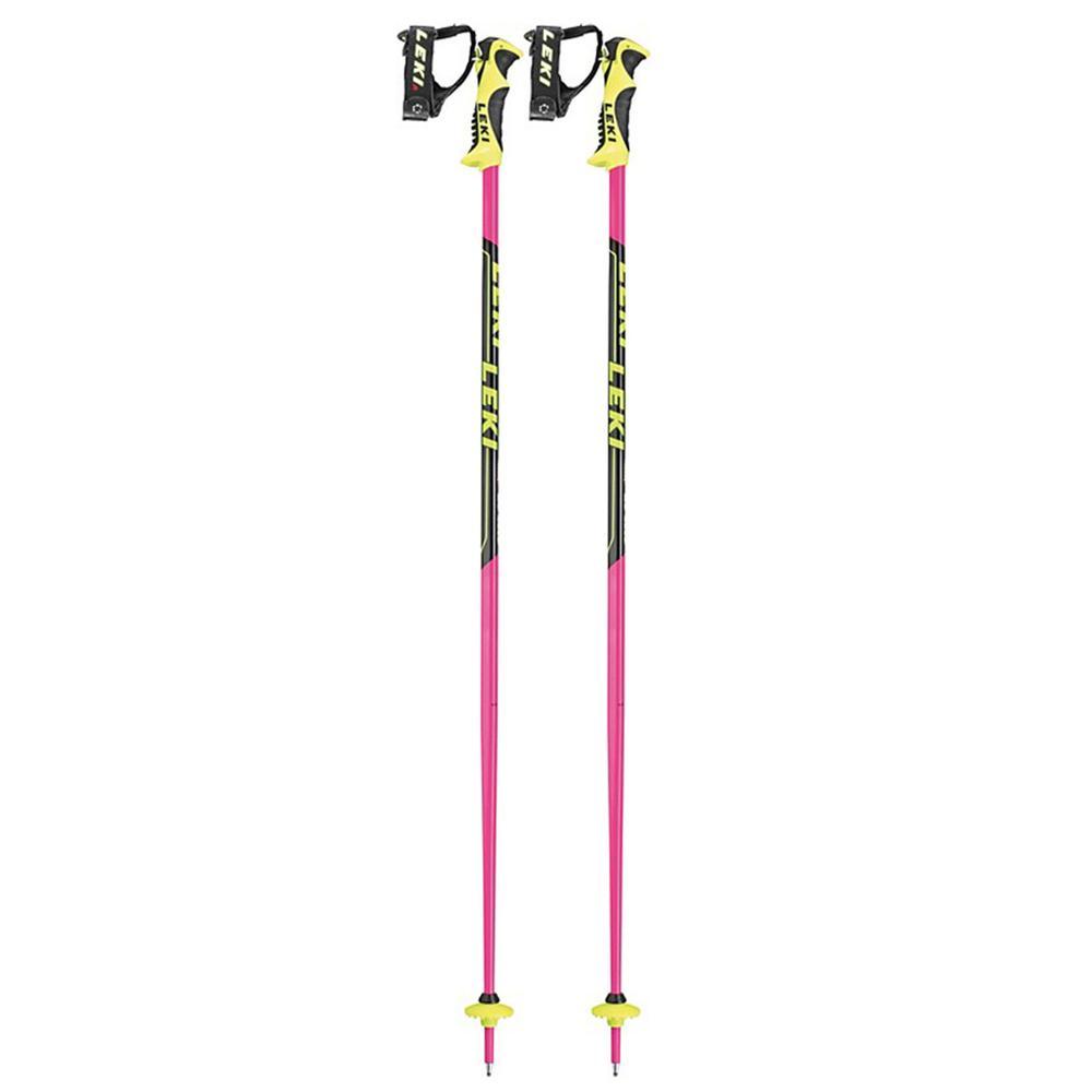 Leki World Cup Lite Sl Junior Ski Poles Pink