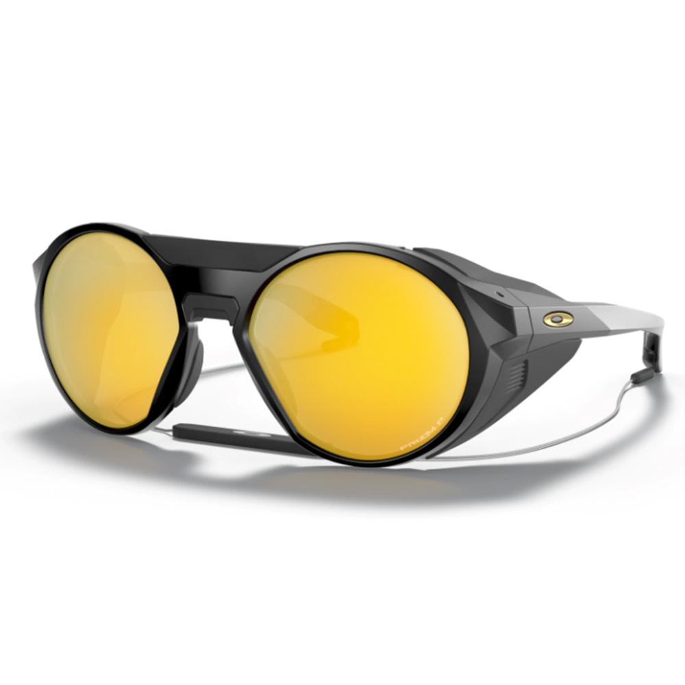 Oakley Clifden Matte Black Prizm 24k Polarized Sunglasses