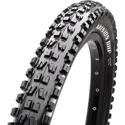 MAXXIS MINION DHF TIRE - 27.5 X 2.3, TUBELESS, FOLDING, BLACK, DUAL COMPOUND, EX