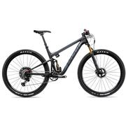 20 MACH 4SL CARBON, PROXT 12SP W/120MM FORK, FACTORY LIVE, ALLOY, STEALTH, M STEALTH