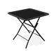 Textilene Table, Black
