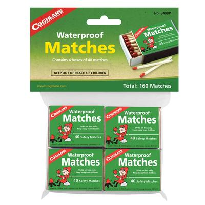 WATERPROOF MATCHES - PK OF 4