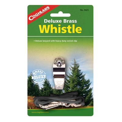 DELUXE WHISTLE - BRASS