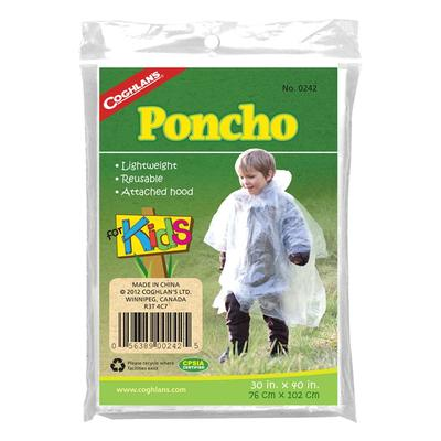 PONCHO FOR KIDS