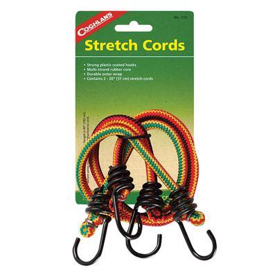 20`` STRETCH CORDS - PKG OF 2