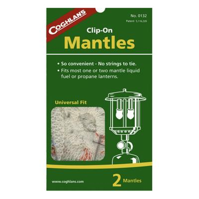MANTLES - CLIP ON - PKG OF 2