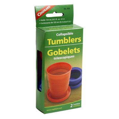 COLLAPSIBLE TUMBLERS - PKG OF 2