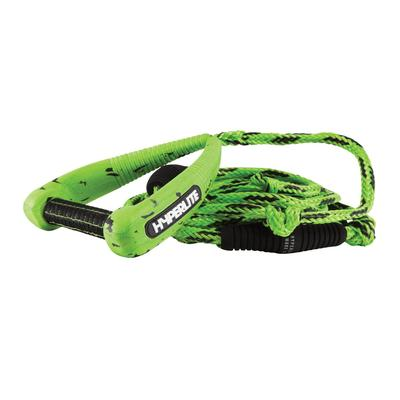 25` PRO SURF ROPE W/HANDLE GREEN