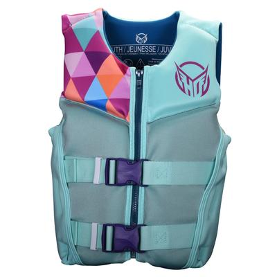 HO GIRLS YTH PURSUIT HRM NEO VEST MINT