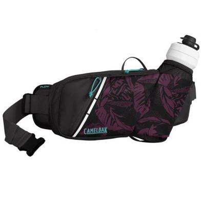 PODIUM FLOW BELT 21OZ, PLUM/BLACK PALMS