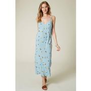 IZZY FLORAL DRESS AIRBLUE