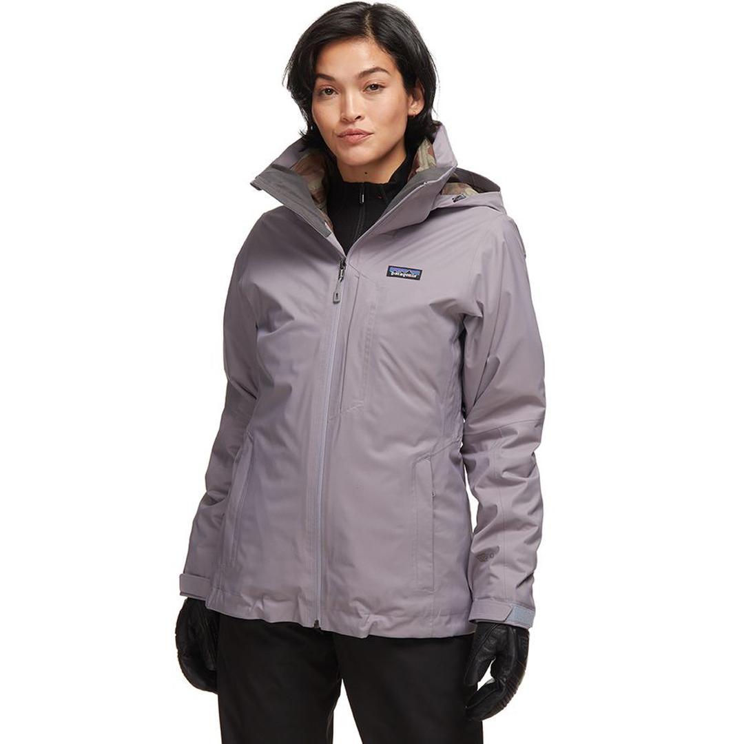 Patagonia, Snowbelle, Women's, Jacket, Ski, Snowboard, Performance, H2no, Recycled, Waterproof, 3- In1
