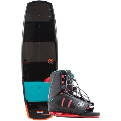Hyperlite - Franchise 134 Wakeboard w/ Team OT 7-10.5 Bindings