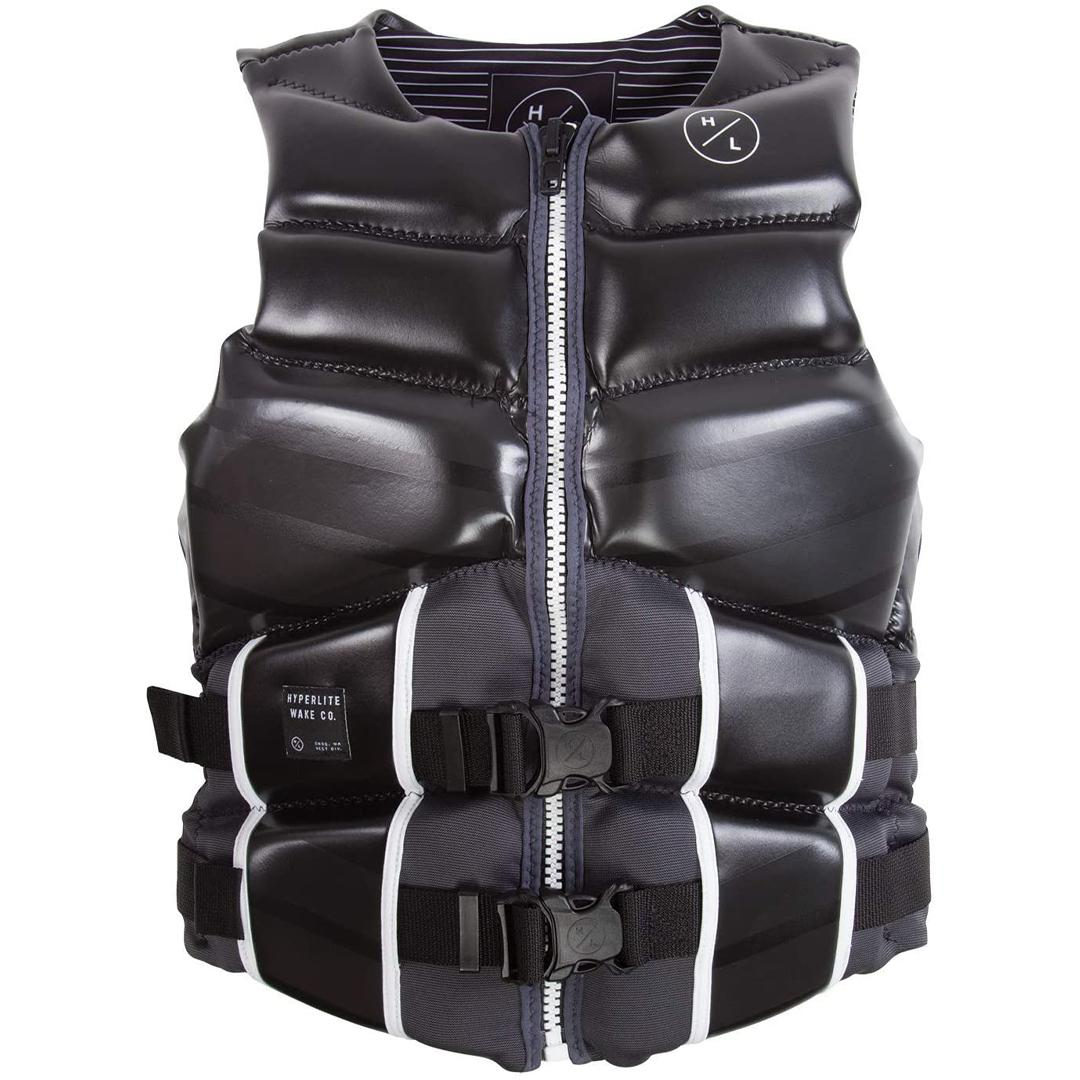 Uscg Approved Type Iii Personal Flotation Device Superior Drain- Ability Superior Range Of Motion All Directions 2 Concealed 1.5in Straps Independent Segmented Rib Panels