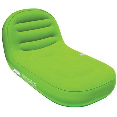SUN COMFORT COOL SUEDE CHAISE LOUNGE LIME