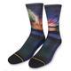 Blur Blue Classic Crew Sock