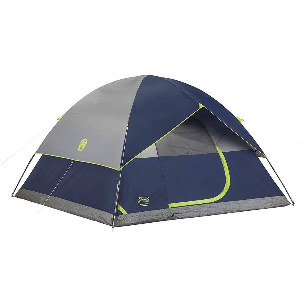 Coleman - Sundome ® 6- Person Dome Tent, Navy
