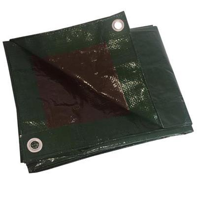 TARP POLY 6`X8` GREEN/BROWN