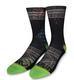 Palms Green Classic Crew Sock