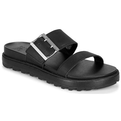 W ROAMING SLIDE  VEG-BLACK