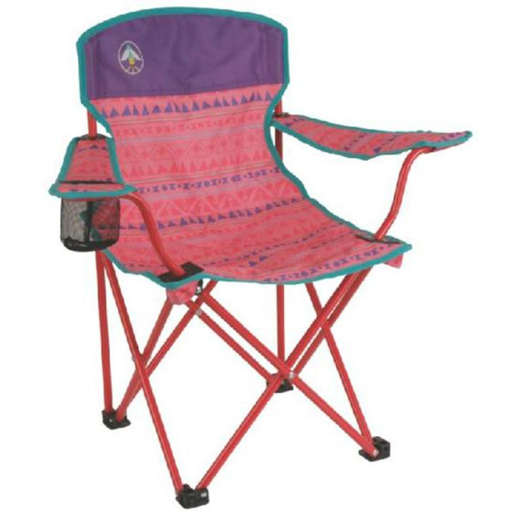 Coleman Chair Camping Picnic Bbq Beach Tailgate Concert Sports Kids Youth