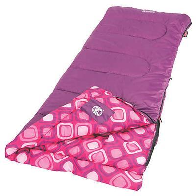 SLEEPING BAG YTH 45D GIRL RECT
