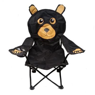 KIDS CHAIR BLACK BEAR SHAPED