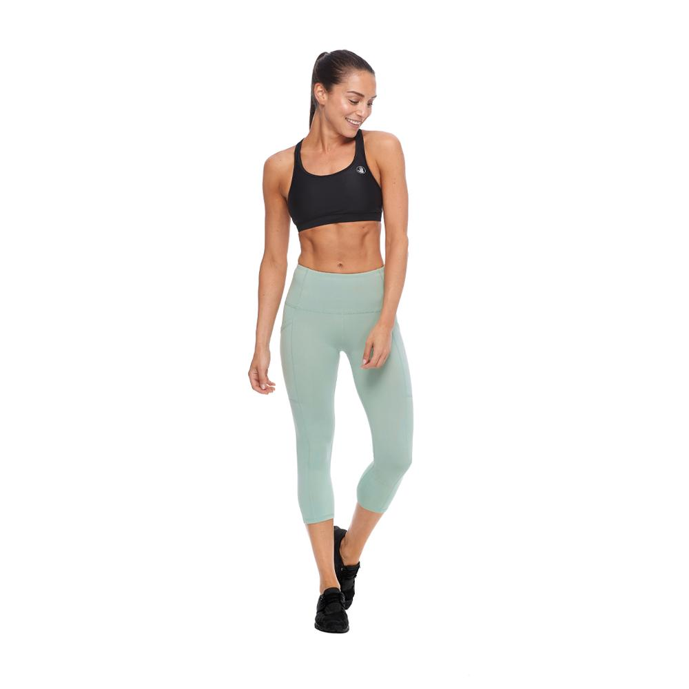 Body Glove  Women's Active Equalizer X Sports Bra Top Medium Support With Removable Soft Cups And Criss Cross Back Detail Breathable Fabric